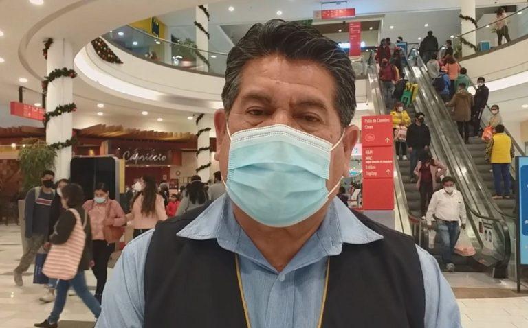 Detectan descuido en medidas de bioseguridad en mall Aventura Plaza