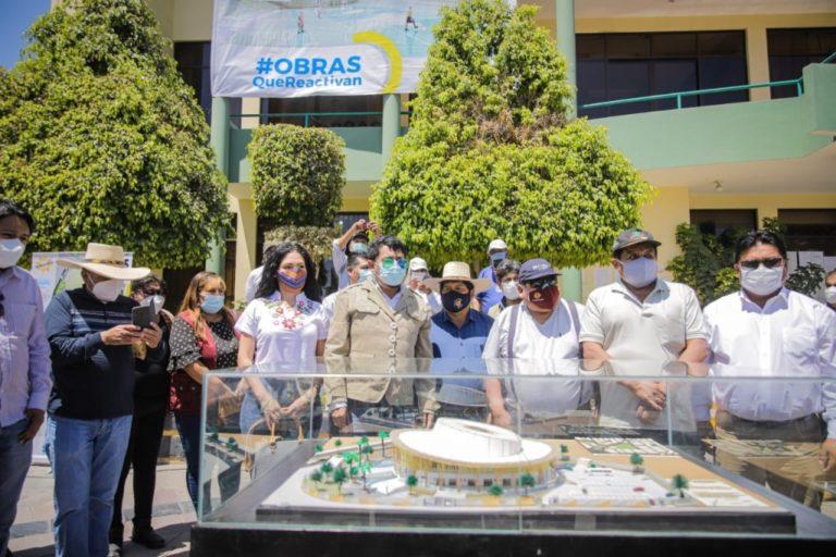 Cáceres Llica quiere construir un coliseo en forma de sombrero