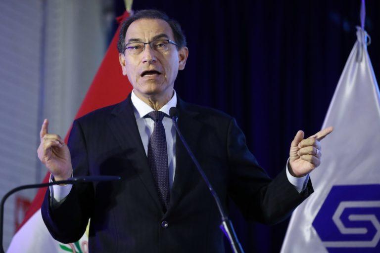 Fiscal de la Nación formuló denuncia contra expresidente Martín Vizcarra