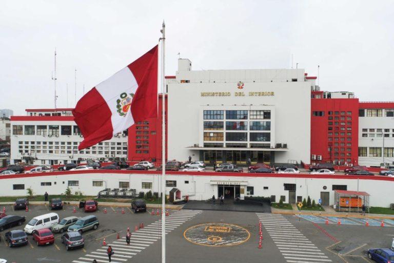 Viceministros del Interior renuncian a sus cargos tras cambios al interior de la PNP