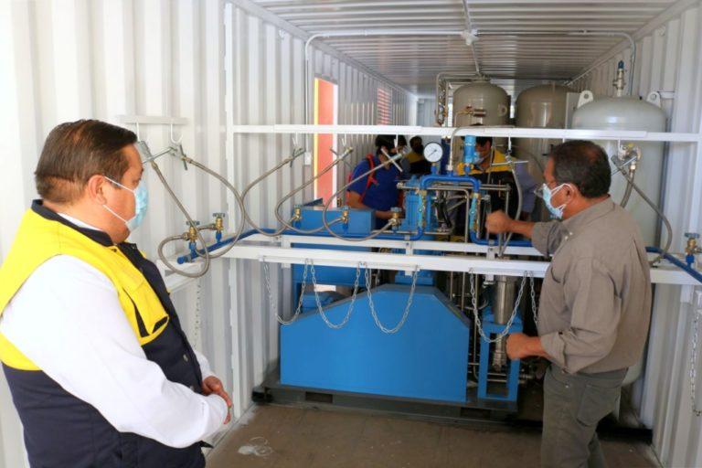 Planta de oxígeno medicinal se instalará en el Coliseo de San Francisco de Moquegua