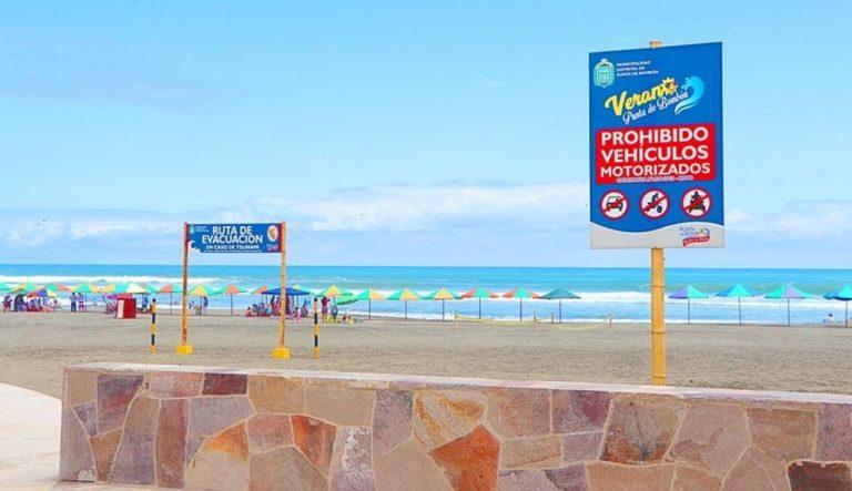 Suspenden proceso de subasta de playas en Punta de Bombón