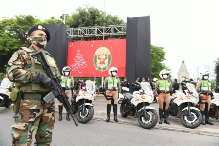 Siete mil policías resguardarán seguridad en fiestas de fin de año