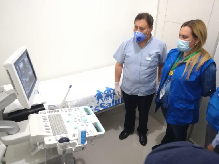 Presidenta de EsSalud puso en funcionamiento equipos de imagenología en Mollendo