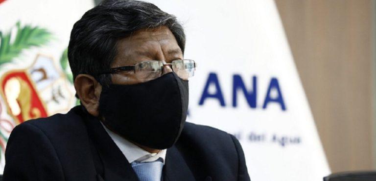 Roberto Salazar Gonzales es designado como jefe de la Autoridad Nacional del Agua