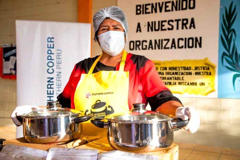 Comedores populares de Ilo lideran proyecto de lucha contra la anemia