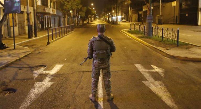 Disponen toque de queda desde las 21:00 a 04:00 horas en Moquegua, Arequipa y otras regiones