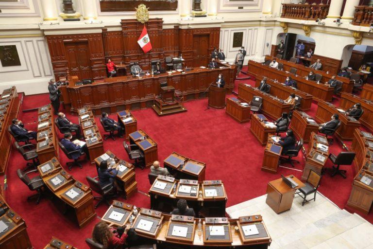 Congreso otorga voto de confianza al Gabinete Bermúdez