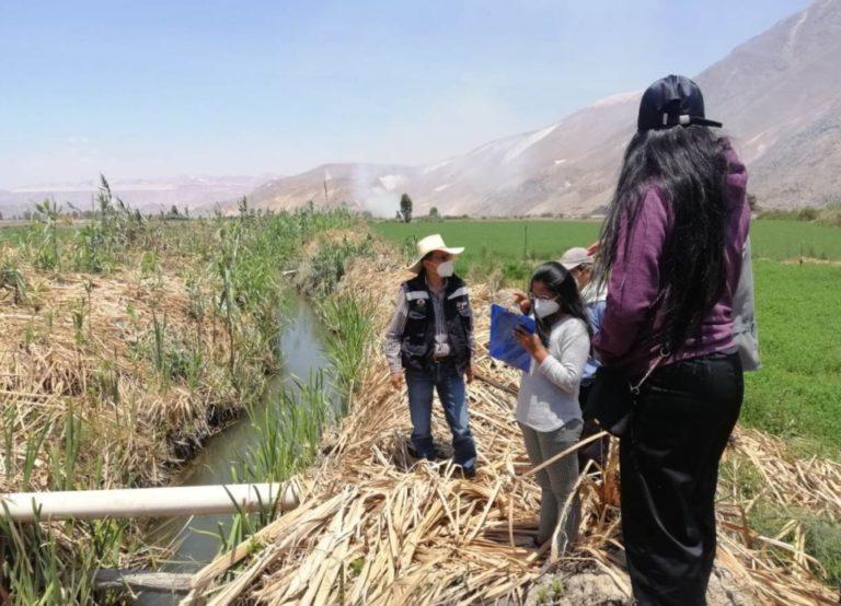 Impulsan construcción de nuevo canal de riego en Valle Arriba