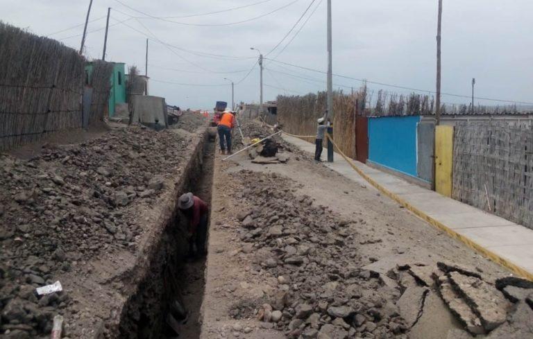Pobladores de Costanera Sur contarán con agua y desagüe