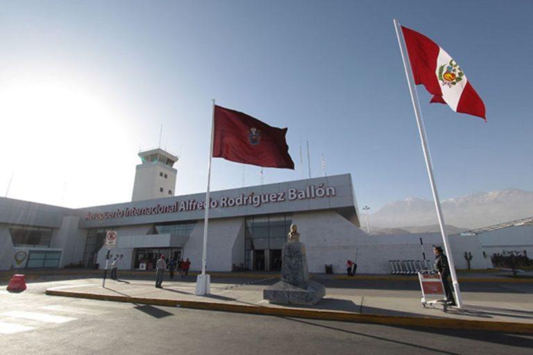 Reprogramarán vuelos en Arequipa, sin pago de penalidades