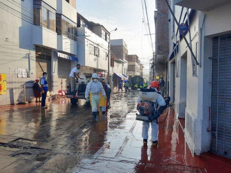 Municipalidad Provincial de Islay realiza campañas intensivas de prevención contra el Covid-19