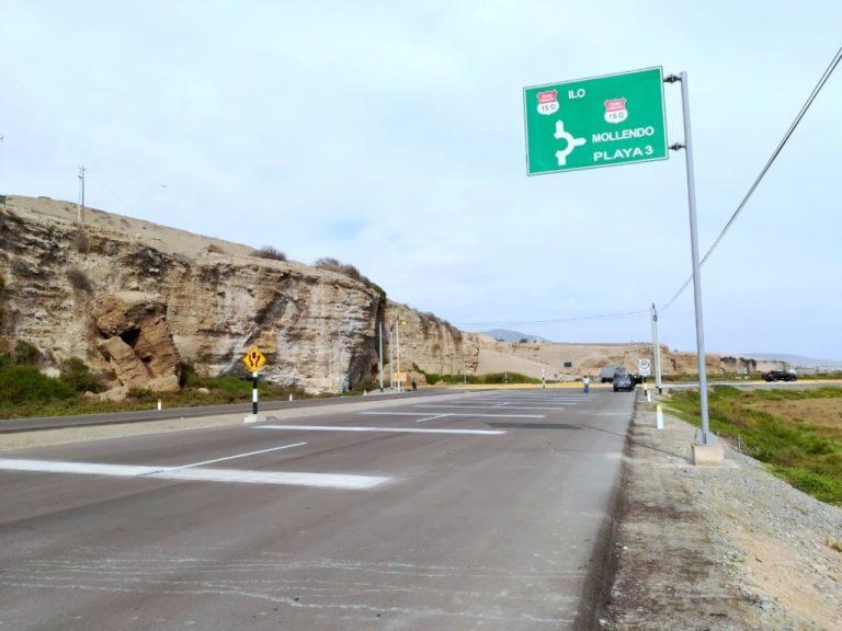 Carretera Costanera en Islay: Perjuicio de medio millón de soles por responsabilidad de Provías Nacional