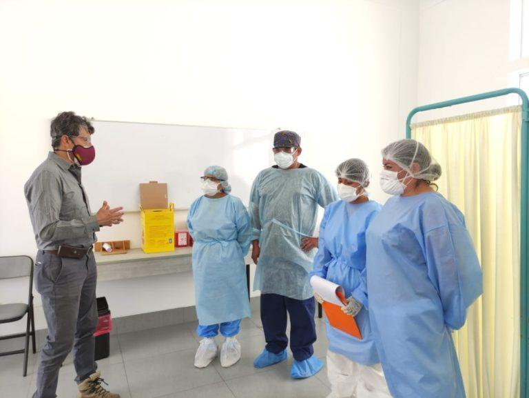 Consejero Pinto propone adquirir plantas portátiles de oxígeno para la provincia de Islay