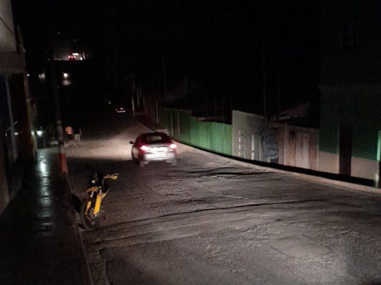 Registran corte nocturno de electricidad en Islay y otras localidades de Arequipa
