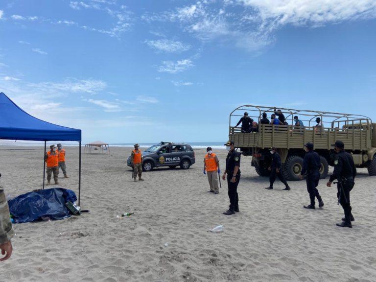 Al menos 50 detenidos por ocupar playas de Mollendo