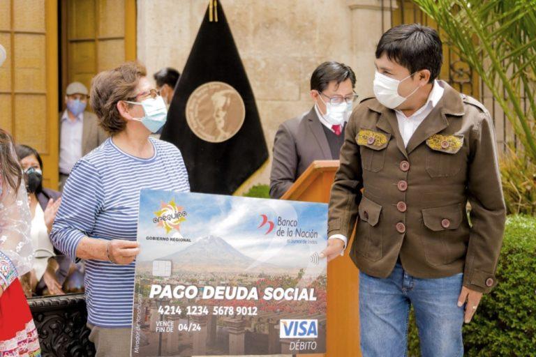Disponen entrega de S/ 17 millones para pago de deuda social en Arequipa
