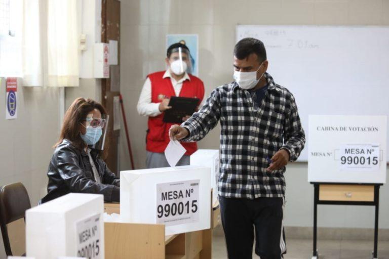 DESDE EL PARQUE BOLOGNESI: LA CARRERA ELECTORAL