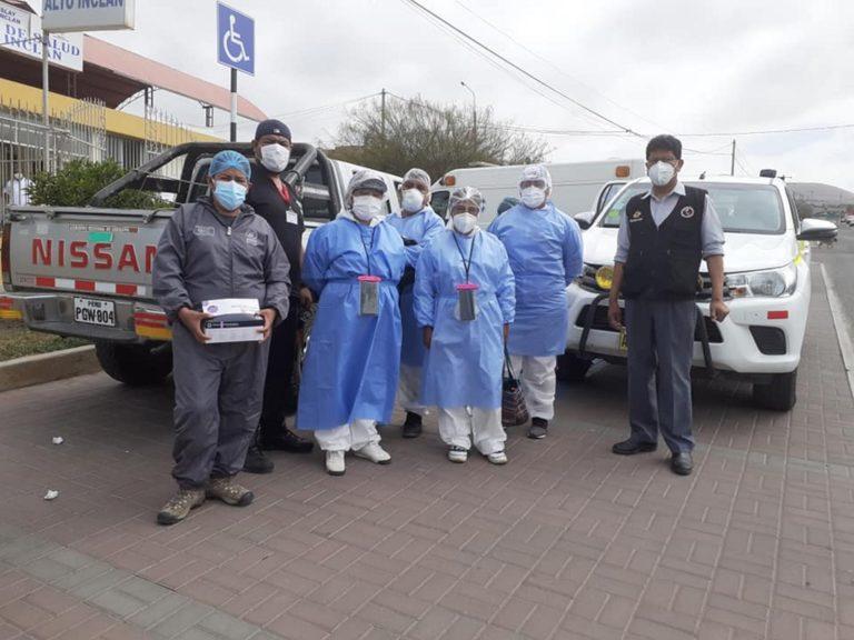 Red de Salud Islay: Llegan 12 profesionales para combatir Covid-19 en la provincia