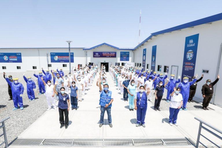 EsSalud contratará a 4,000 profesionales de la salud para fortalecer atención covid-19