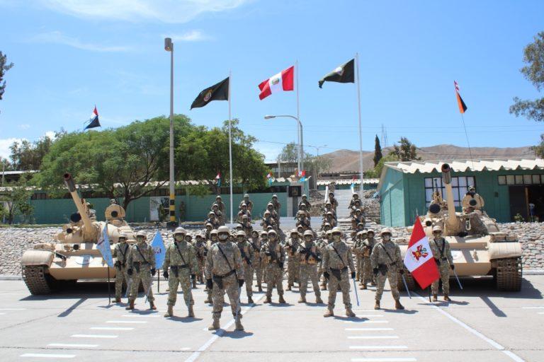 Realizan ceremonia de reconocimiento a general de la Tercera Brigada Blindada de Moquegua