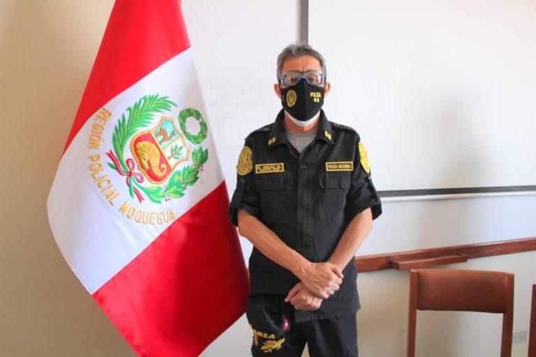 Nuevo jefe de la XIV Macro Región Policial da a conocer su plan de trabajo