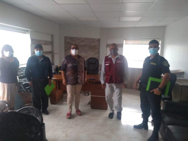 Alcaldesa de Mejía juramenta Codisec de su distrito