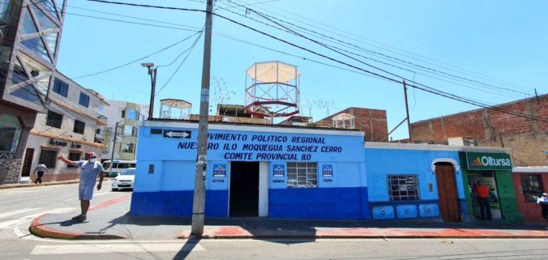 Roban local de movimiento político de Pocho Mendoza