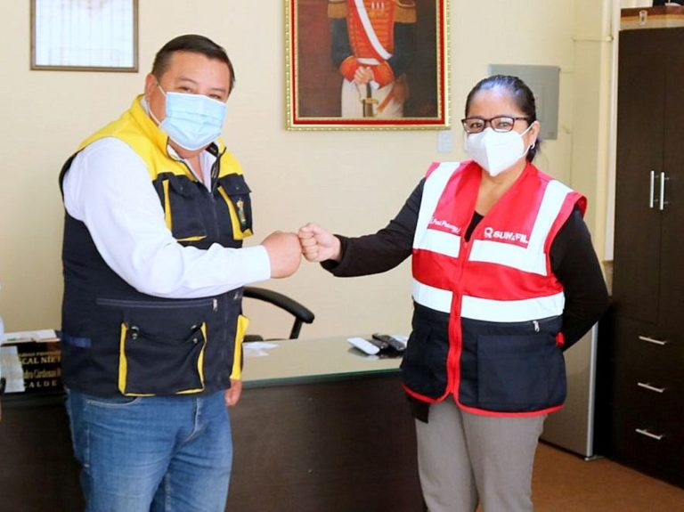 Asume cargo nueva intendente de la SUNAFIL en Moquegua