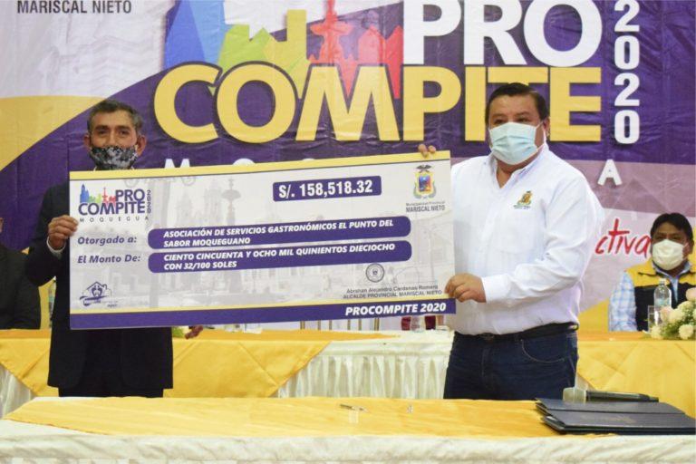 Municipalidad entregará bienes a agentes económicos organizados