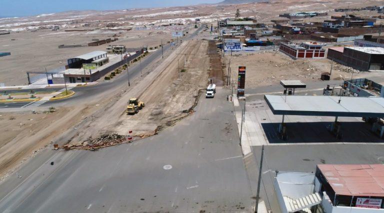 Construirán vía de cuatro carriles al ingreso norte de Mollendo