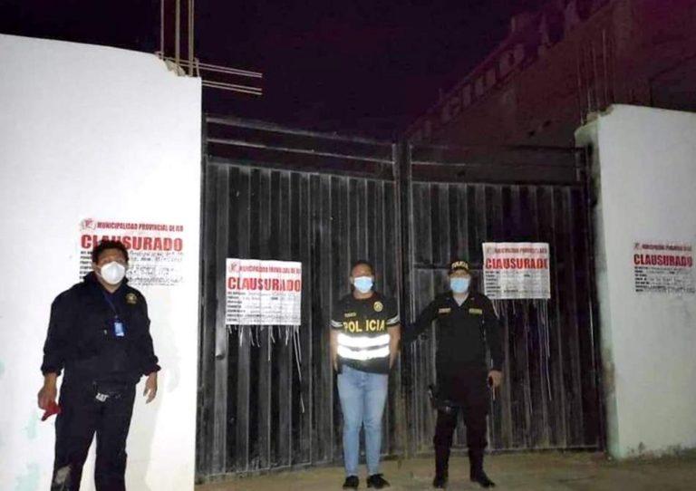 Policía Nacional intervino Night Club en la Pampa Inalámbrica
