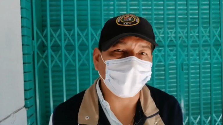 Desinfección del mercado Pacocha se realiza a partir de las 11 de la noche