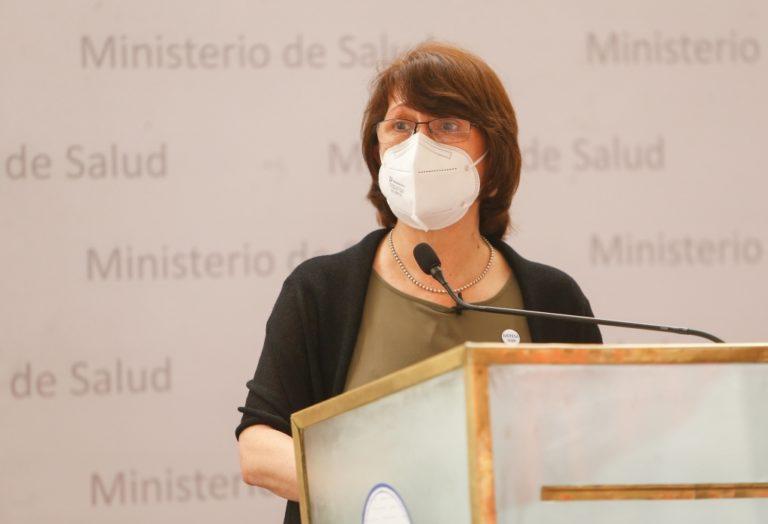 Ministra Mazzetti anuncia distribución de nuevos ventiladores mecánicos a escala nacional