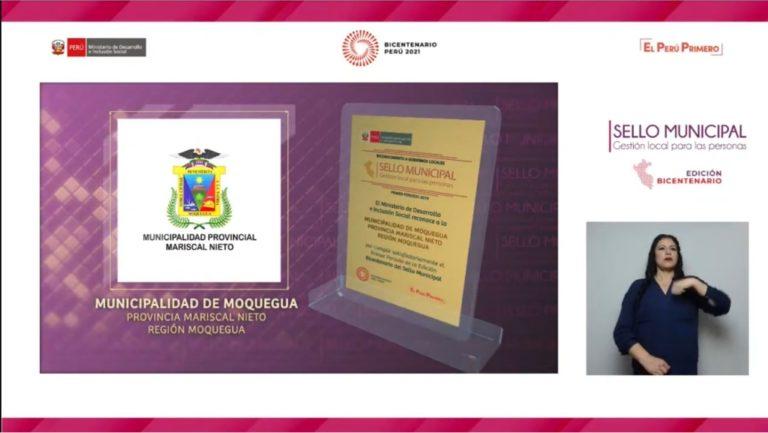 Alcalde Abraham Cárdenas recibirá premio nacional Sello Municipal