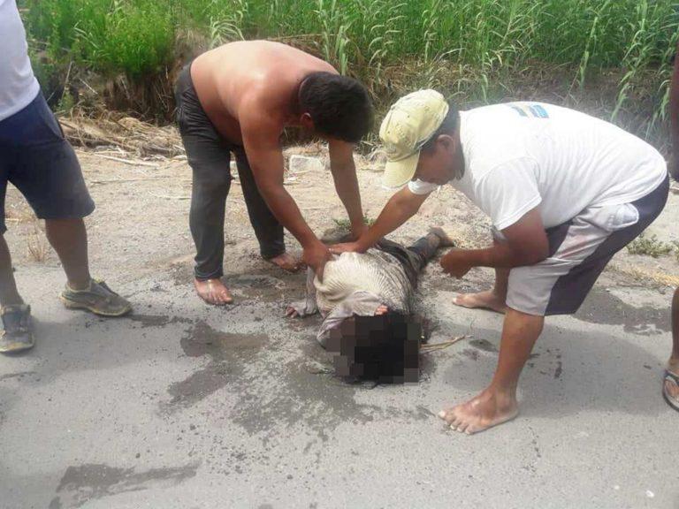 Punta de Bombón: Frustran intento de suicidio de mujer