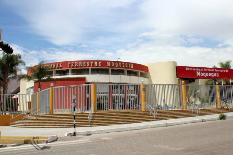 Solo hay viajes a Juliaca desde el Terminal Terrestre de Moquegua