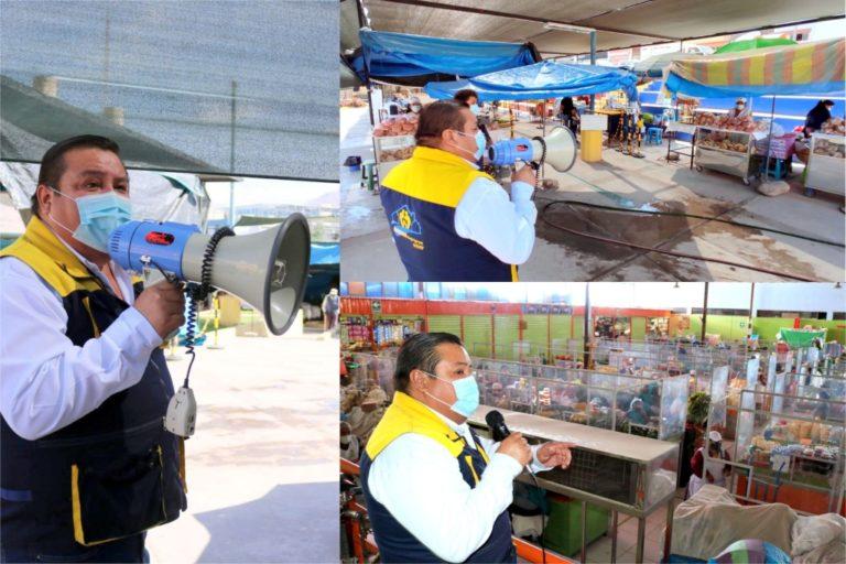 Alcalde Cárdenas exhorta a la población a reforzar medidas sanitarias para no entrar en cuarentena