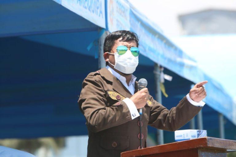 Cáceres Llica pide que se prohíban mítines políticos por contagios de Covid-19