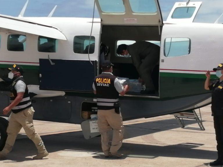 Cargamento de droga encontrada en contenedores fue enviado a Lima