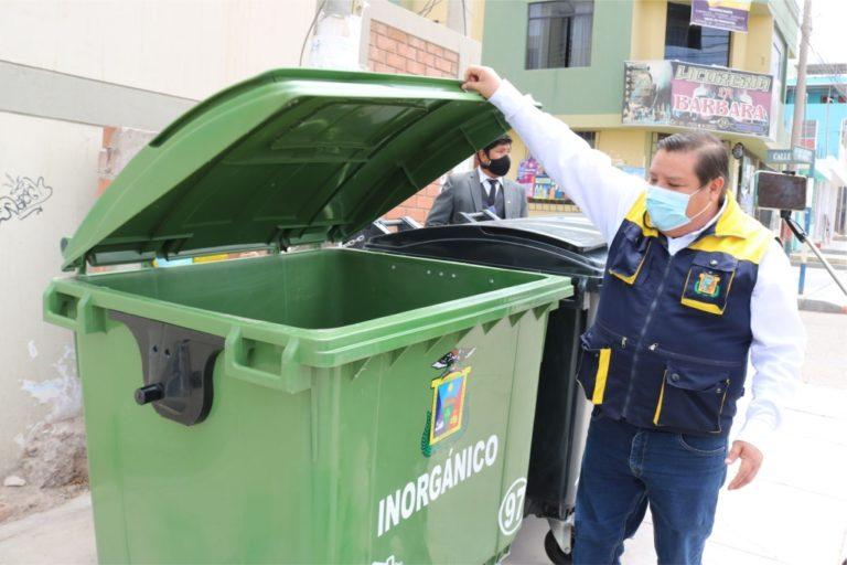 Con colocación de contenedores se evitará acumulación de residuos sólidos y contaminación del ambiente