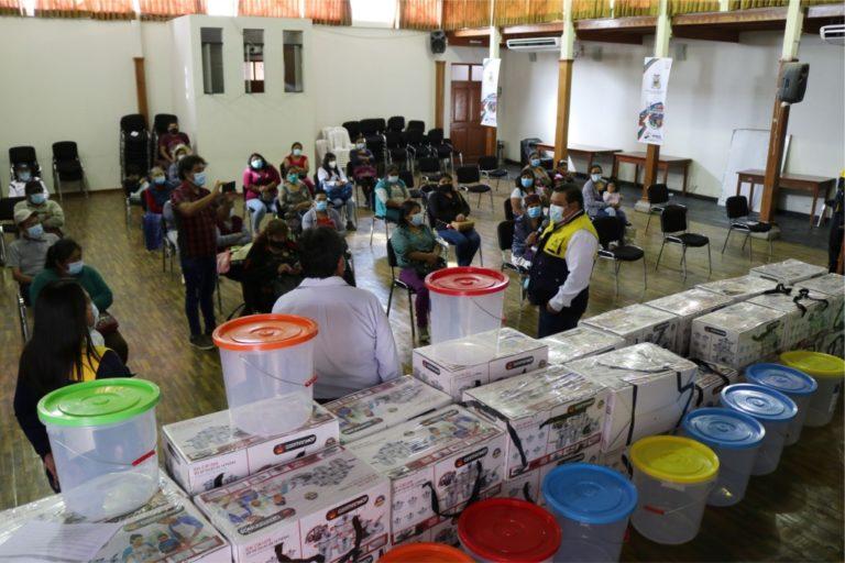 Vaso de Leche recibe apoyo en Moquegua