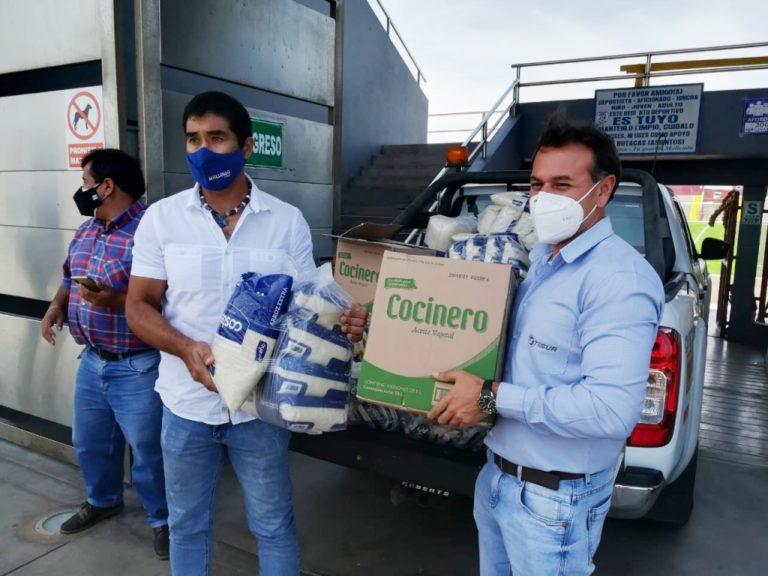"""Alcalde Rivera pone en marcha programa """"Mi Almuerzo"""" para pobladores de escasos recursos de Mollendo"""
