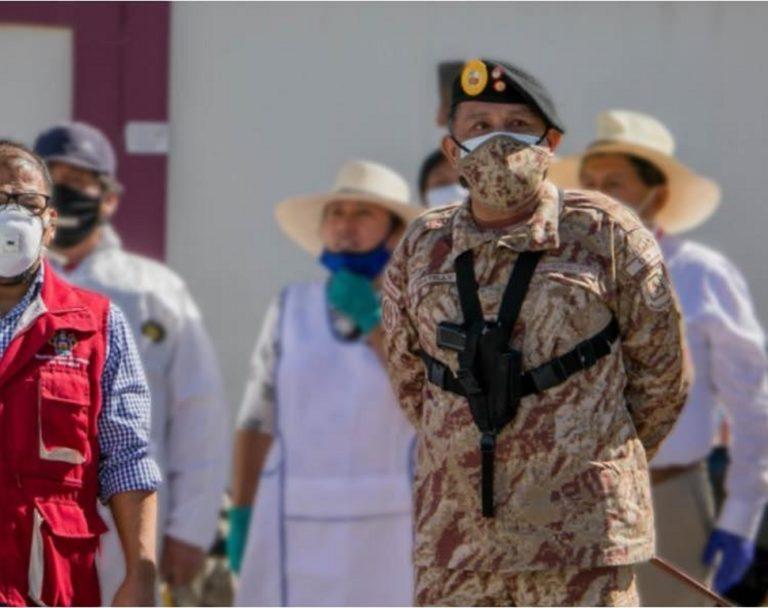 """Ex jefe del comando Covid-19 de Arequipa implicado en """"gasolinazo"""" del ejército"""