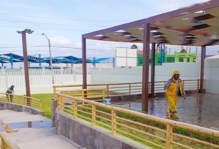 Realizan limpieza de Metacentro en Punta de Bombón
