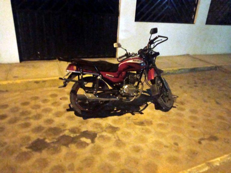 Serenos de Deán Valdivia recuperan moto robada