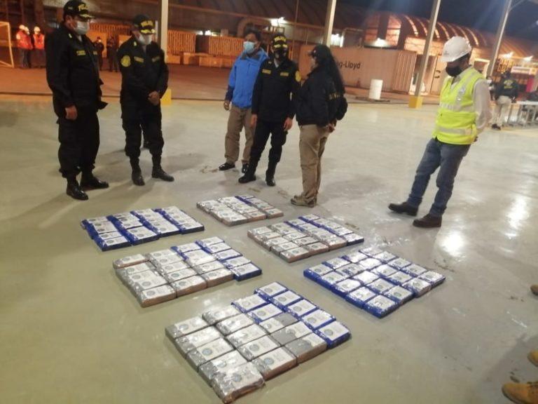 Jefe de la XIV Macro Región Policial confirma que droga encontrada es de casi media tonelada