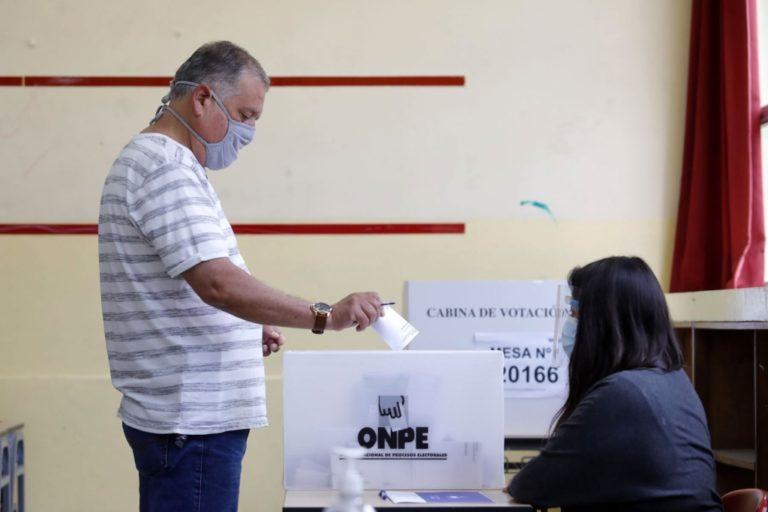 ONPE: voto escalonado es fundamental para garantizar distanciamiento social