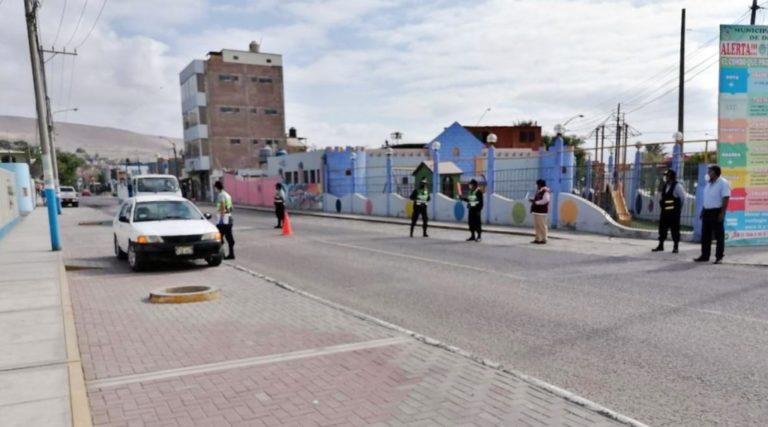 Están advertidos: Intervienen unidades de transporte público que circulan por La Curva
