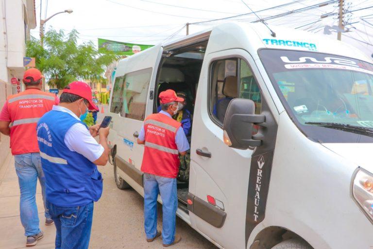 Intensifican operativos de tránsito en Punta de Bombón